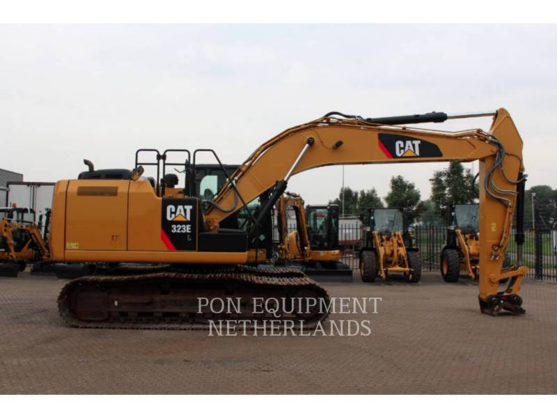 CATERPILLAR TRACK EXCAVATORS 323 EL equipment  photo 5