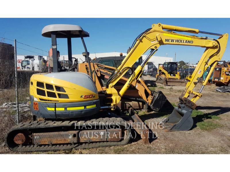 NEW HOLLAND LTD. EXCAVADORAS DE CADENAS E50B equipment  photo 2
