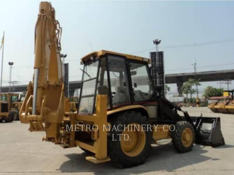 CATERPILLAR BACKHOE LOADERS 428C equipment  photo 5
