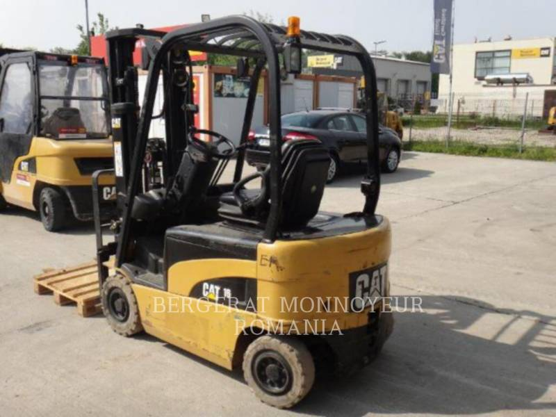 MITSUBISHI CATERPILLAR FORKLIFT PODNOŚNIKI WIDŁOWE EP16N equipment  photo 1