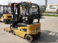 Equipment photo MITSUBISHI CATERPILLAR FORKLIFT EP16N CARRELLI ELEVATORI A FORCHE 1