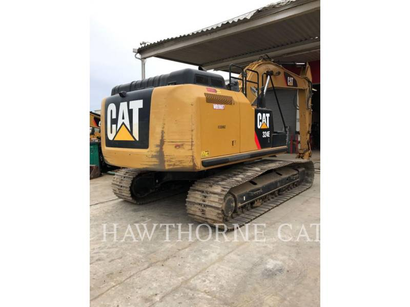 CATERPILLAR PELLES SUR CHAINES 324EL equipment  photo 1