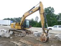 Equipment photo CATERPILLAR 313FLGC TRACK EXCAVATORS 1