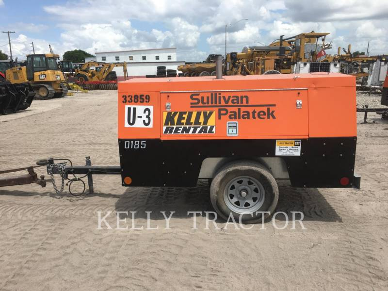 SULLIVAN LUFTKOMPRESSOR D185P PK equipment  photo 2