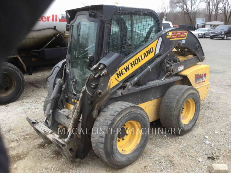 NEW HOLLAND LTD. CHARGEURS COMPACTS RIGIDES L225 equipment  photo 2