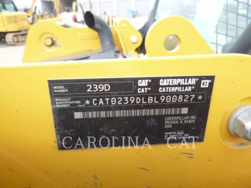 CATERPILLAR 履帯式ローダ 239D equipment  photo 7