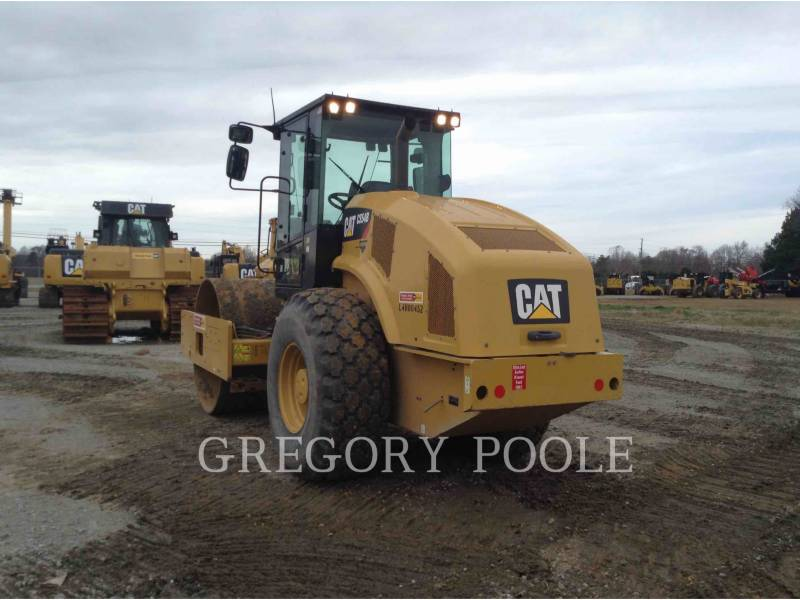 CATERPILLAR COMPATTATORE A SINGOLO TAMBURO VIBRANTE LISCIO CS54B equipment  photo 2