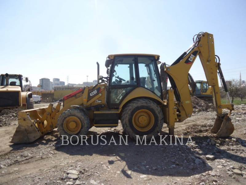 CATERPILLAR BACKHOE LOADERS 428F equipment  photo 7