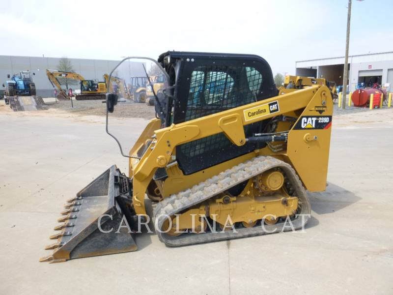CATERPILLAR TRACK LOADERS 239D CB equipment  photo 2