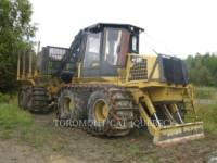 Equipment photo CATERPILLAR 584HD SILVICULTURA -  TRATOR TRANSPORTADOR 1