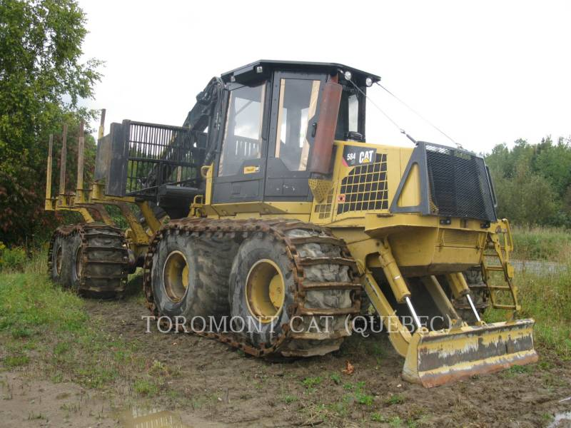 CATERPILLAR FORSTWIRTSCHAFT - FORWARDER 584HD equipment  photo 1