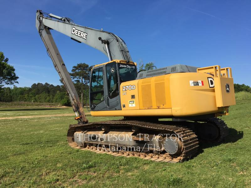 JOHN DEERE PELLES SUR CHAINES 270DL equipment  photo 1