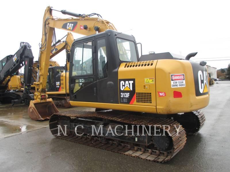CATERPILLAR TRACK EXCAVATORS 313FL GC equipment  photo 2