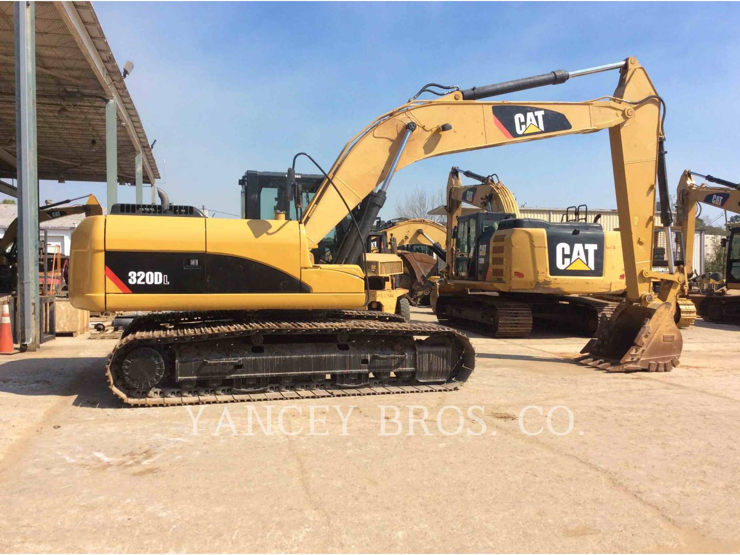 2012 - CATERPILLAR - 320DL