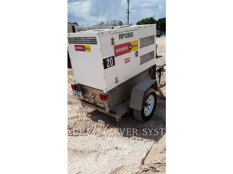 NORAM PORTABLE GENERATOR SETS N20 equipment  photo 6
