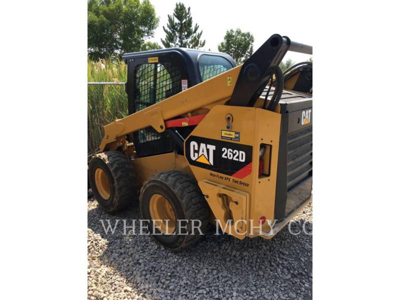 CATERPILLAR SKID STEER LOADERS 262D C3HF2 equipment  photo 3