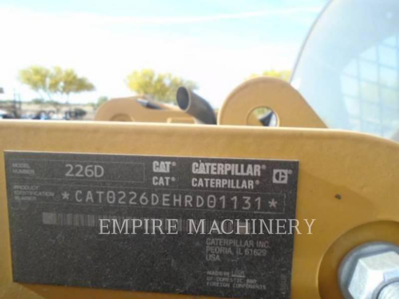 CATERPILLAR スキッド・ステア・ローダ 226D equipment  photo 6