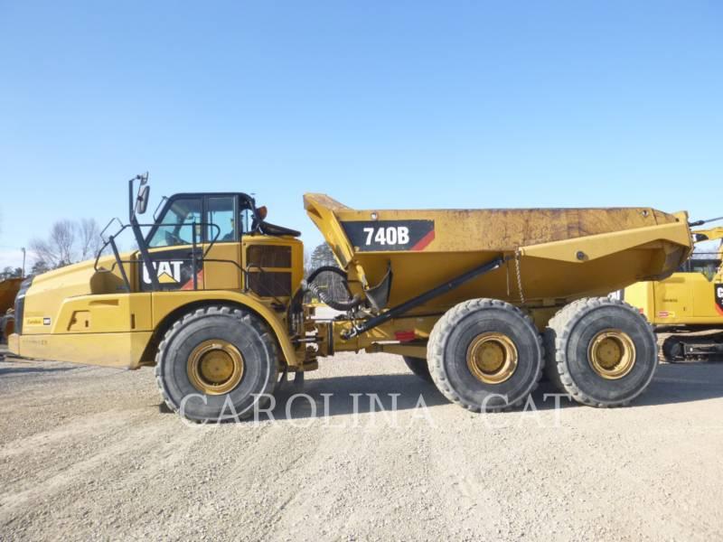 CATERPILLAR アーティキュレートトラック 740B WT equipment  photo 1