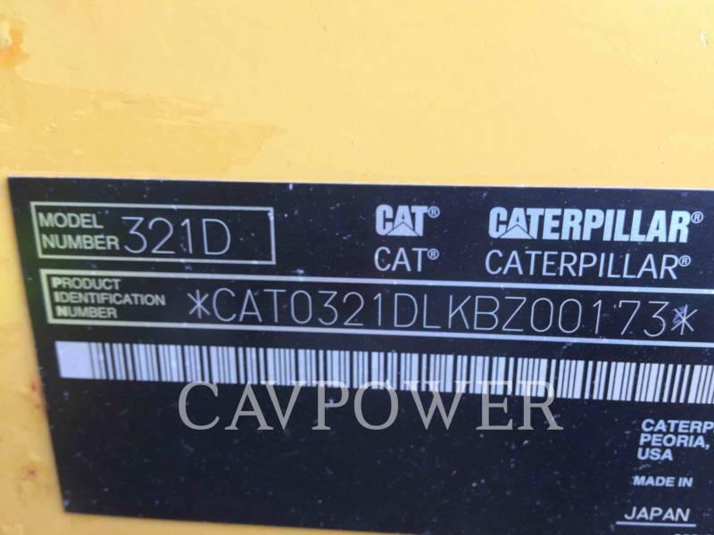 CATERPILLAR PELLES SUR CHAINES 321DLCR equipment  photo 2