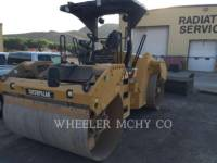 Equipment photo CATERPILLAR CB64 VIBRATORY DOUBLE DRUM ASPHALT 1