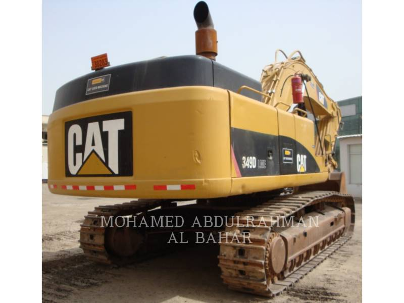 CATERPILLAR TRACK EXCAVATORS 349 D L (ME) equipment  photo 5