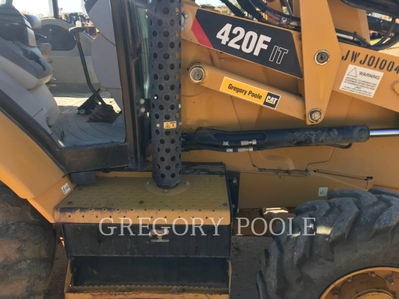 CATERPILLAR BACKHOE LOADERS 420F equipment  photo 15
