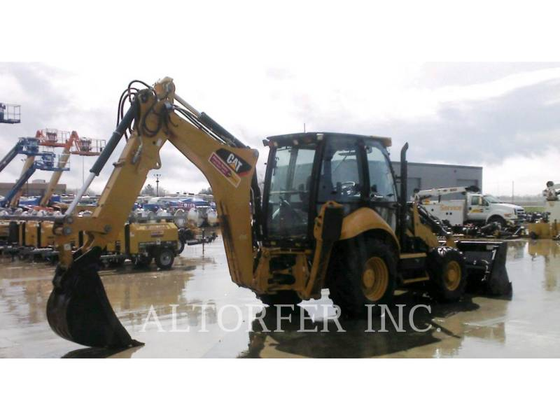 CATERPILLAR CHARGEUSES-PELLETEUSES 420F IT equipment  photo 4