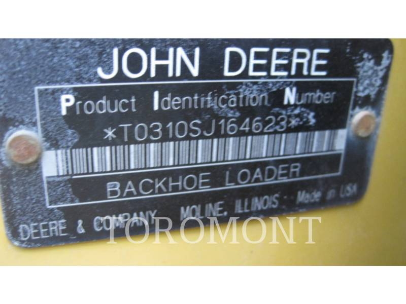 DEERE & CO. BAGGERLADER 310SJ equipment  photo 9