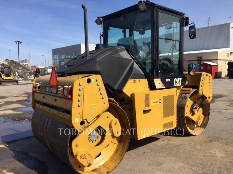 CATERPILLAR TAMBOR DOBLE VIBRATORIO ASFALTO CD54 equipment  photo 3