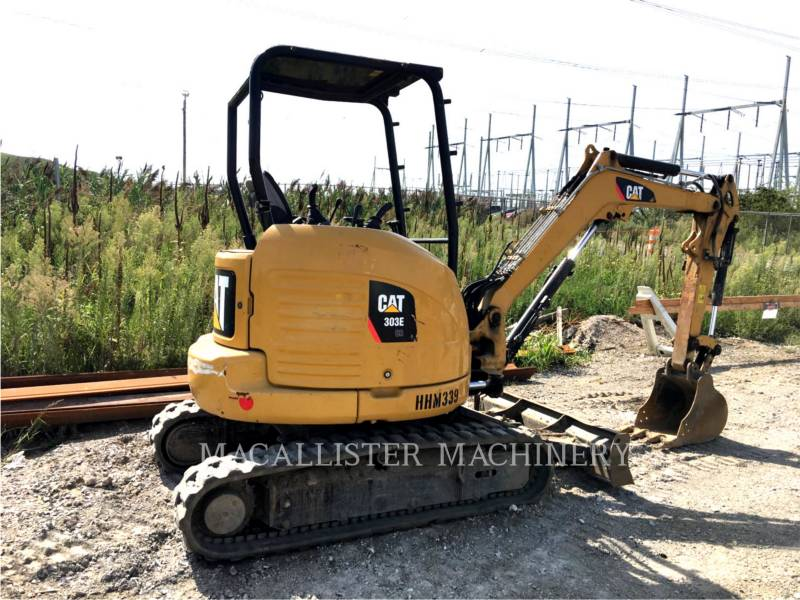 CATERPILLAR KETTEN-HYDRAULIKBAGGER 303E equipment  photo 2