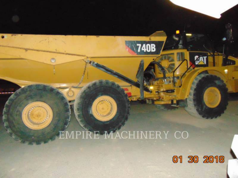 CATERPILLAR 鉱業用ダンプ・トラック 740B TG equipment  photo 1