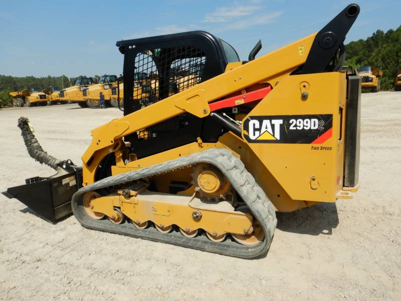 CATERPILLAR PALE CINGOLATE MULTI TERRAIN 299 D 2 equipment  photo 5
