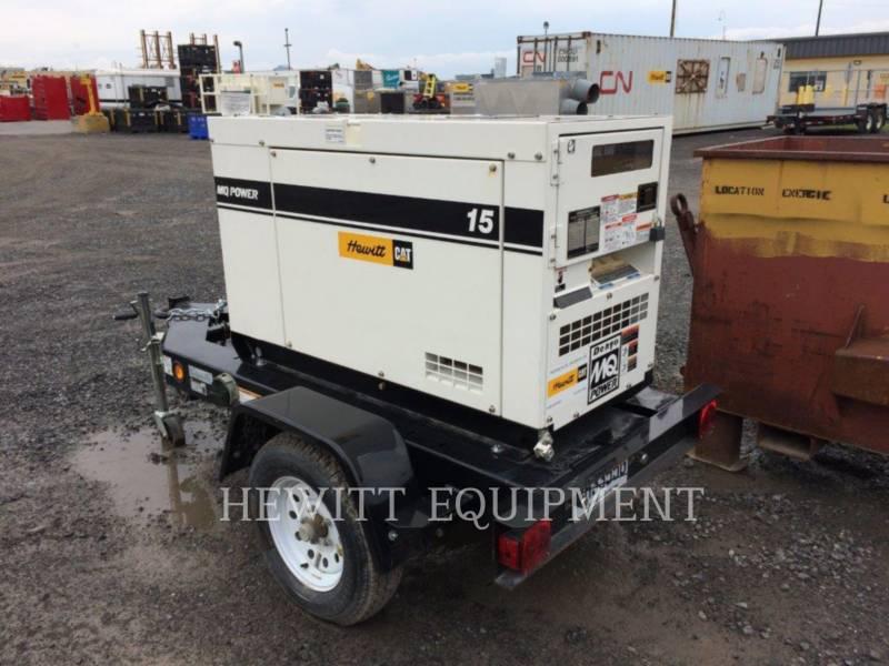 MULTIQUIP PORTABLE GENERATOR SETS XQ15 equipment  photo 2
