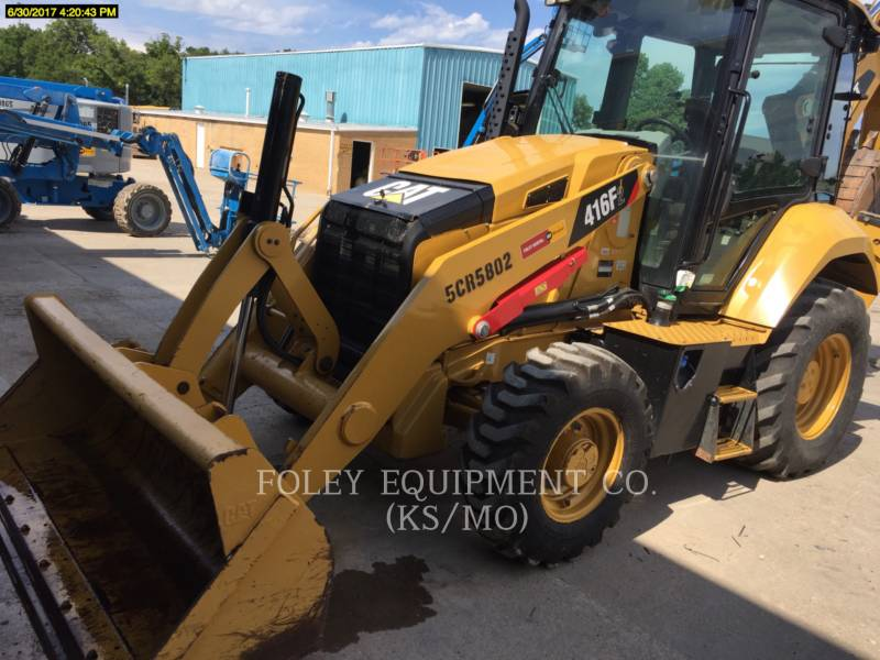 CATERPILLAR CHARGEUSES-PELLETEUSES 416F2 equipment  photo 1