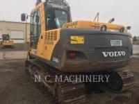 VOLVO CONSTRUCTION EQUIPMENT TRACK EXCAVATORS EC140BLC equipment  photo 5