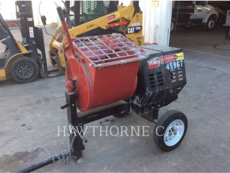 TORO COMPANY CONCRETE EQUIPMENT MIXER MTR equipment  photo 3