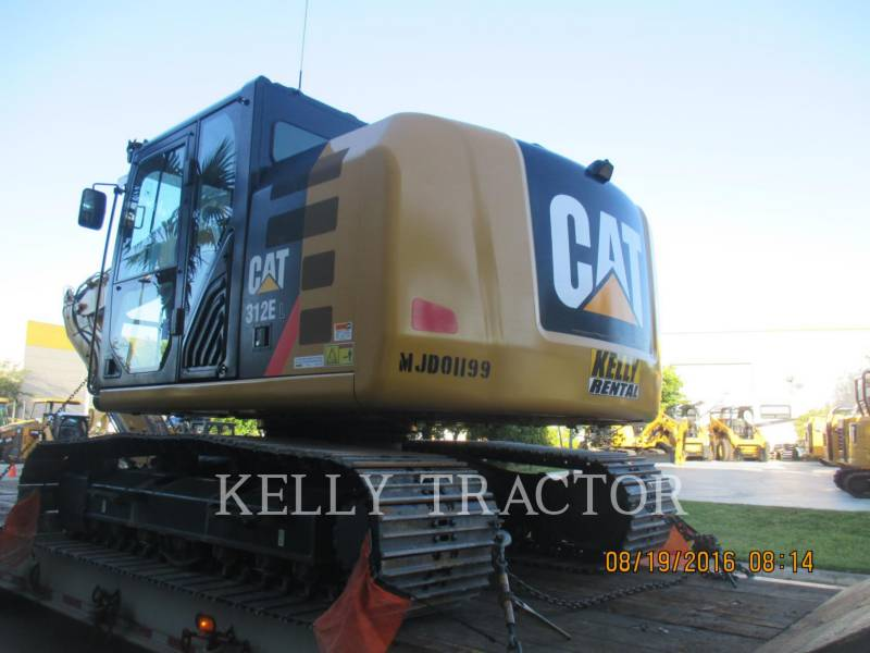 CATERPILLAR KETTEN-HYDRAULIKBAGGER 312EL equipment  photo 3