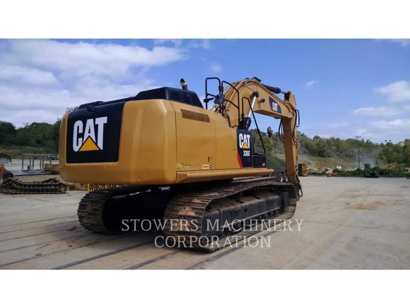 CATERPILLAR TRACK EXCAVATORS 336EL HAM equipment  photo 3