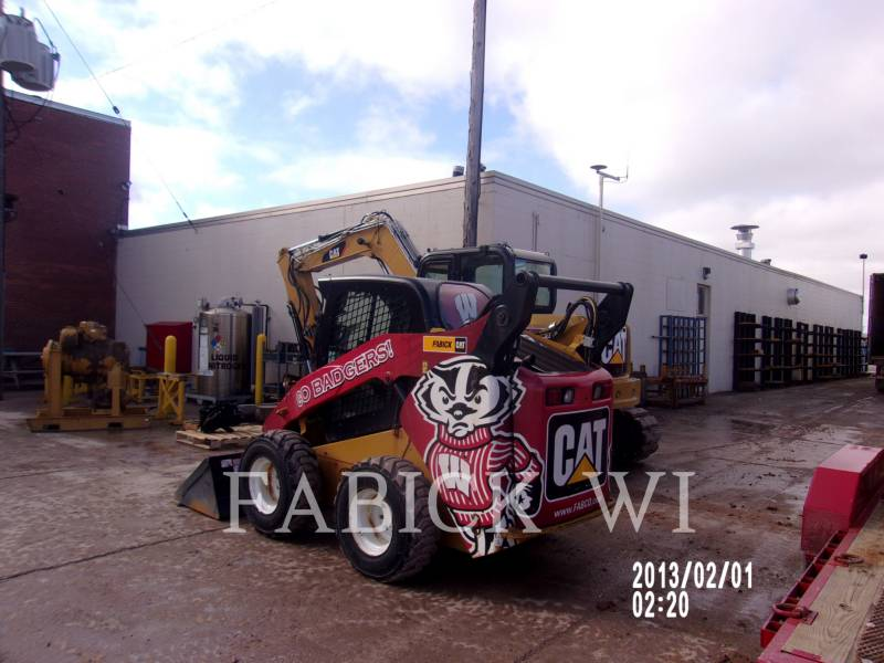 CATERPILLAR SKID STEER LOADERS 262C2 BW equipment  photo 4