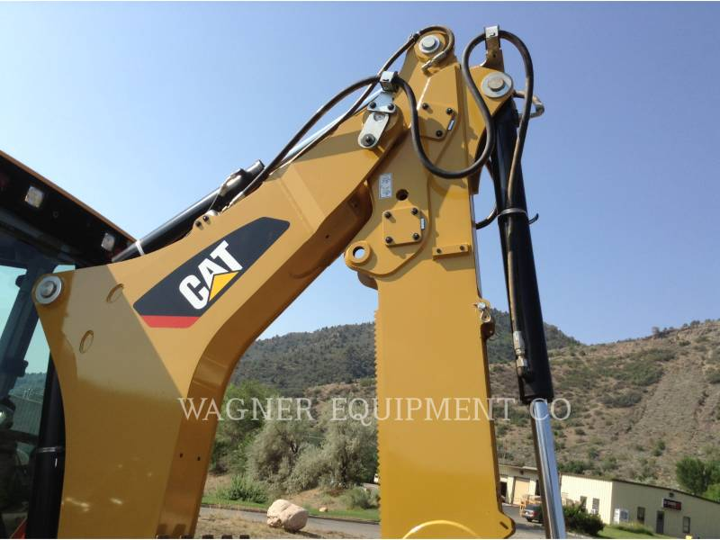 CATERPILLAR BAGGERLADER 416F2ST equipment  photo 9