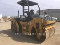 CATERPILLAR TANDEMOWY WALEC WIBRACYJNY DO ASFALTU (STAL-STAL) CB44B equipment  photo 1