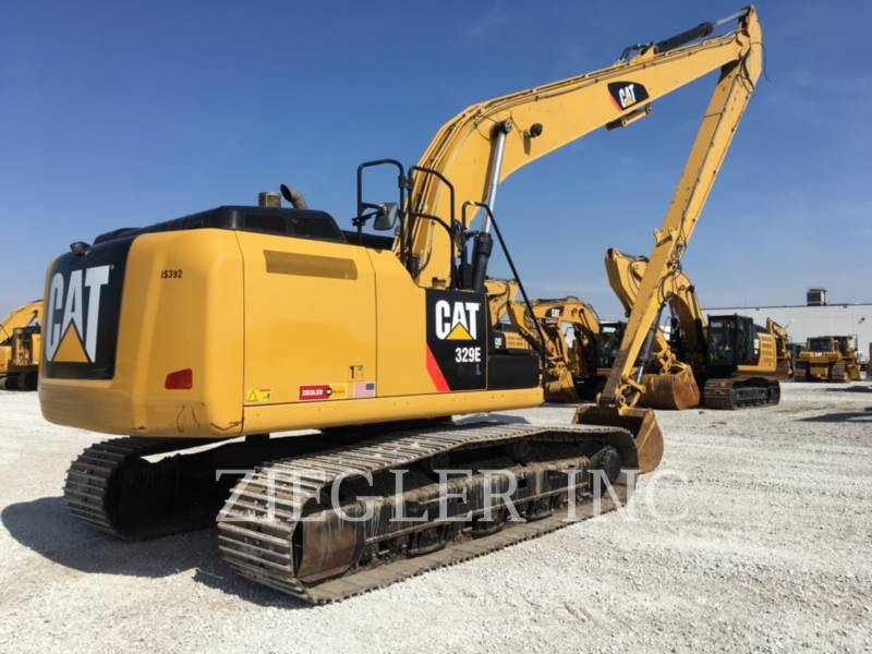 CATERPILLAR EXCAVADORAS DE CADENAS 329ELR equipment  photo 2