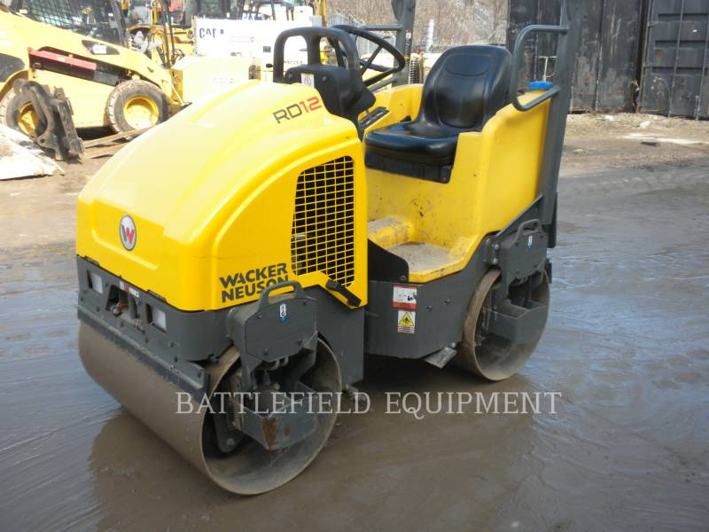 WACKER CORPORATION TANDEMOWY WALEC WIBRACYJNY DO ASFALTU (STAL-STAL) RD12A equipment  photo 1