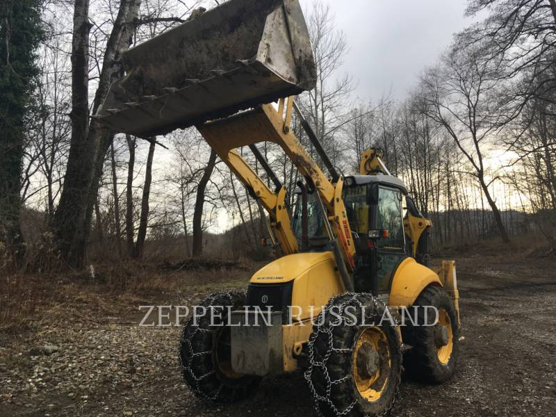 NEW HOLLAND LTD. BAGGERLADER B115B equipment  photo 3