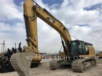 Equipment photo CATERPILLAR 349F L THM KETTEN-HYDRAULIKBAGGER 1