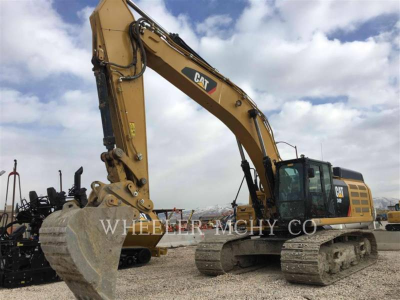 CATERPILLAR EXCAVADORAS DE CADENAS 349F L THM equipment  photo 1