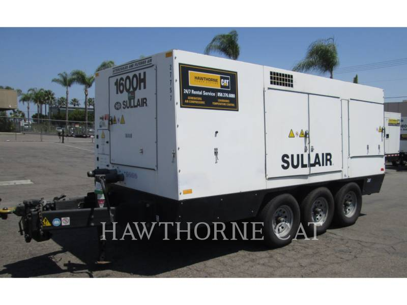 SULLAIR COMPRESSEUR A AIR 1600HAF DTQ-CA3 equipment  photo 1