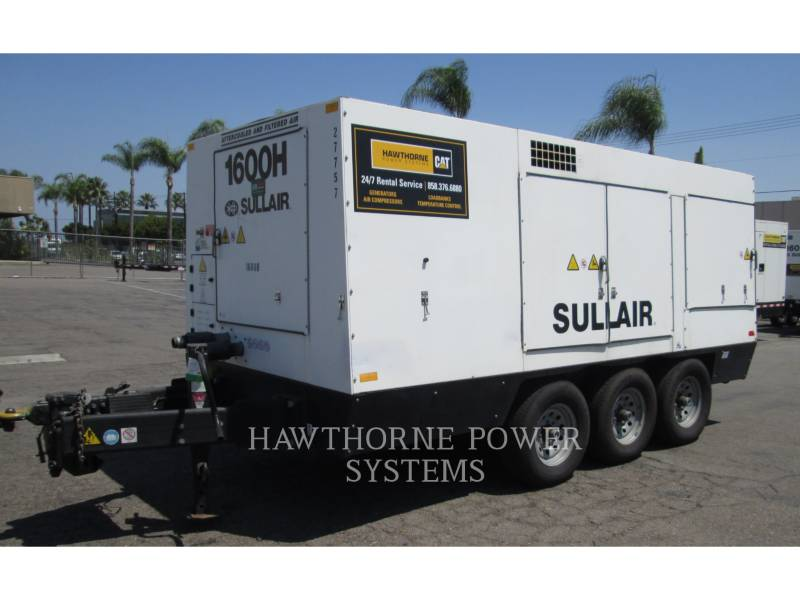 SULLAIR COMPRESSOR DE AR 1600HAF DTQ-CA3 equipment  photo 1