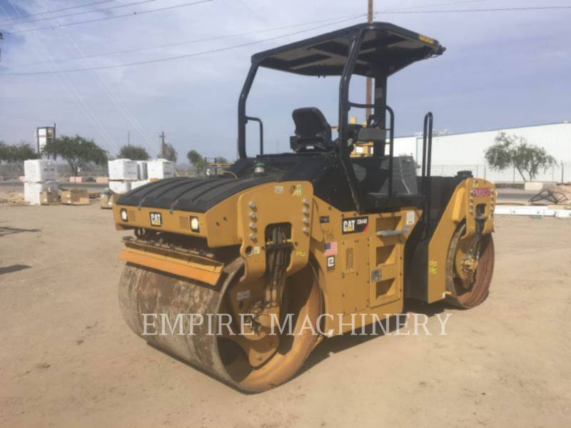 CATERPILLAR COMPACTEURS TANDEMS VIBRANTS CB44B equipment  photo 4