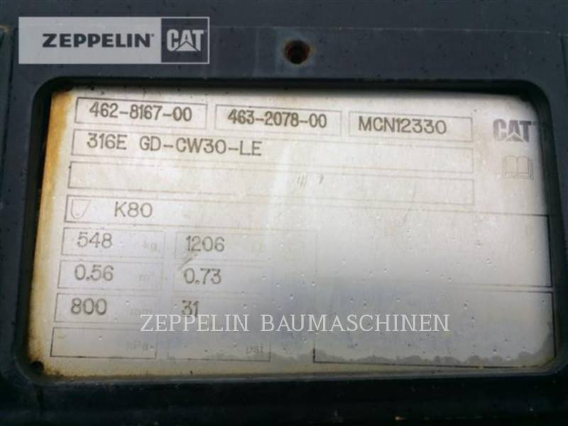 CATERPILLAR AUTRES UTL800-CW30 equipment  photo 3